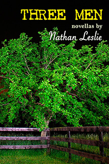 Three Men novellas by Nathan Leslie